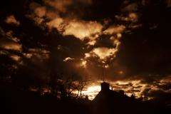 NIR1000-5789 Backyard Sunset